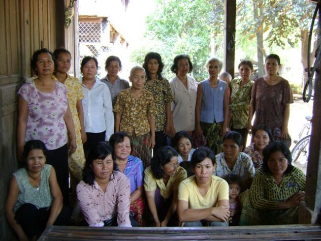 Mrs. Sdaung Chourng Village Bank Group