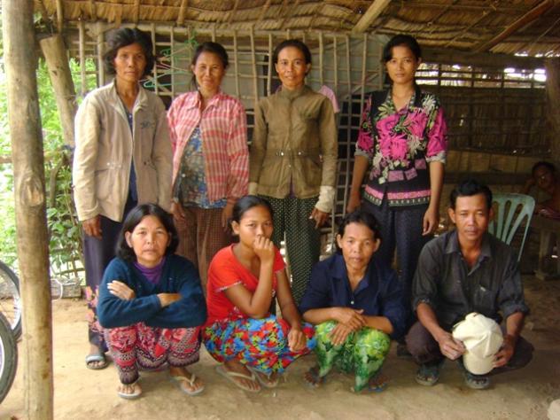 Mrs. Norn Chou Village Bank Group