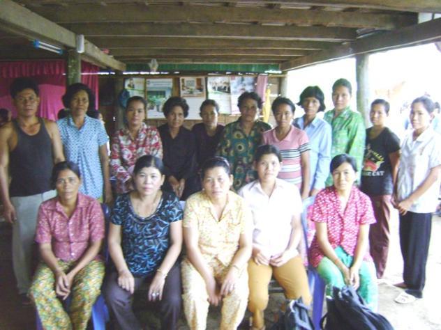 Mrs. Phalla Eng Village Bank Group