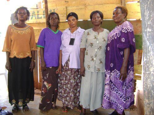 Christine Kiwanuka's Group
