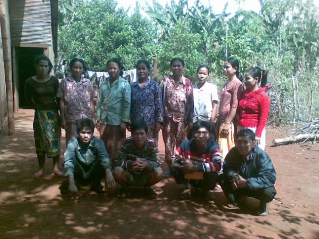 Mrs. Chheang Chhem Village Bank Group