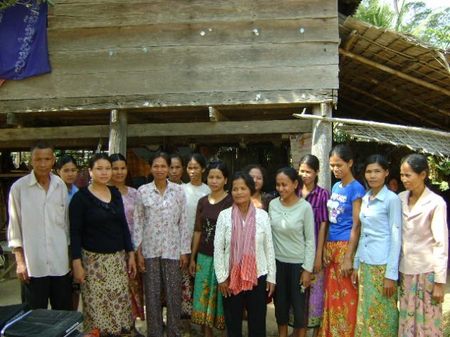 Mrs. Sao Ly Touch Village Bank Group