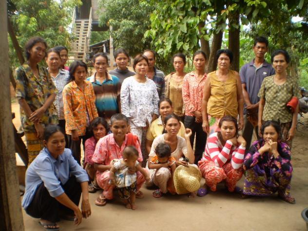 Mrs. Chanthy Doung Village Bank Group