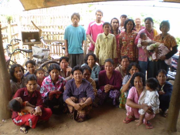 Mrs. Nao Chantha Village Bank Group