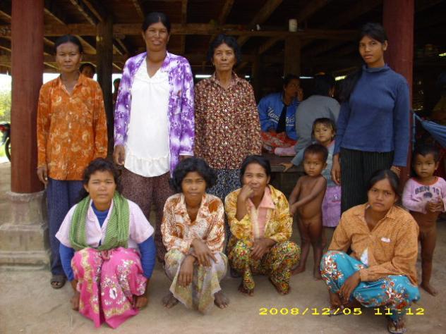 Mrs. Hen Khoem Village Bank Group