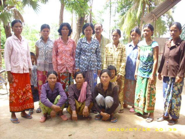 Mrs. Mom Nol Village Bank Group