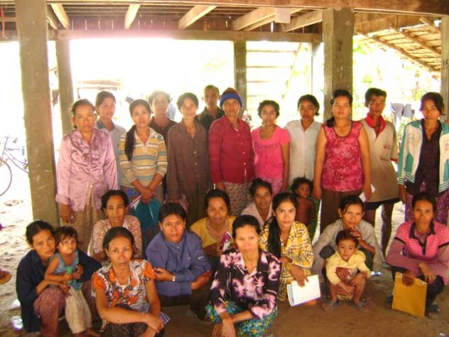 Mrs. Mak Sry Village Bank Group
