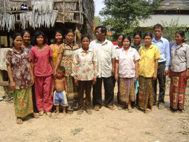 Mrs. Ma Leap Village Bank Group