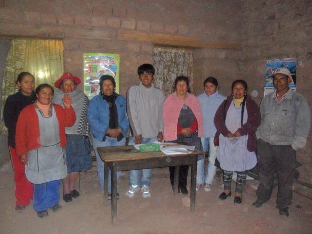Sr. De Huanca De Coya Group