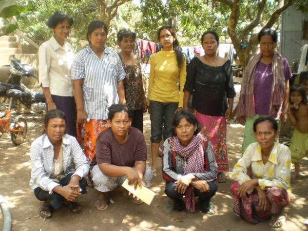 Mrs. Sath Prum Village Bank Group