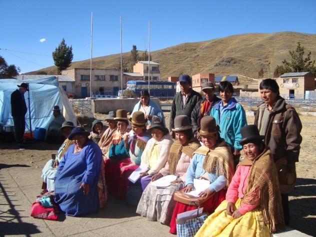 Flor De Chachacomani Group