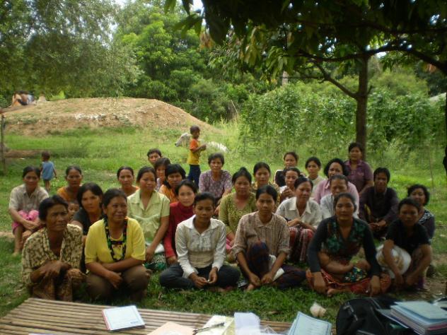 Mrs. Sokhoen Toem Village Bank Group