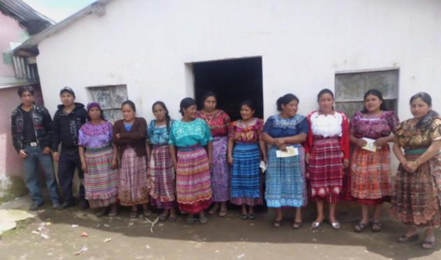 Mujeres De Chisac 2 Group