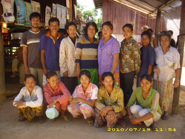 Mrs. Ny Sok Village Bank Group