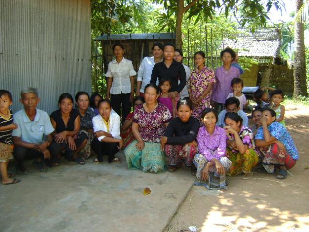 Mrs. Morn Orm Village Bank Group