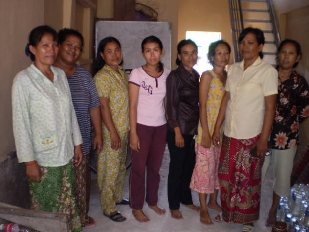 Mrs. Sopheap Uk Village Bank Group