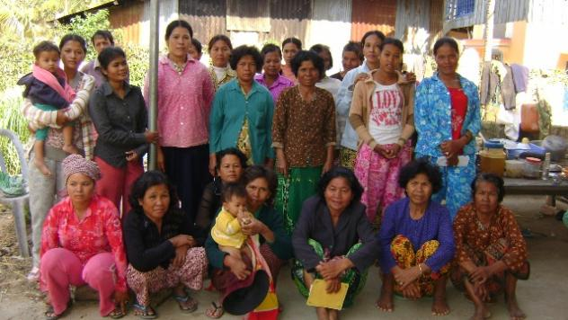 Mrs. Ouk Sorn Village Bank Group