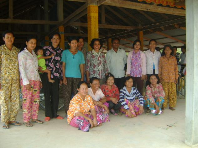 Mrs. So Sreyneang Village Bank Group
