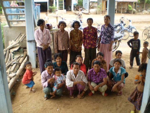 Mrs. Sokha Sout Village Bank Group