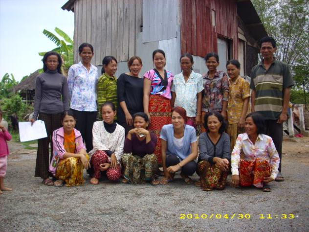 Mrs. Huy Yeng Village Bank Group