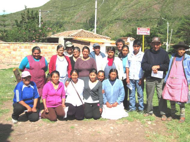 Santa Catalina De Sillacancha Group